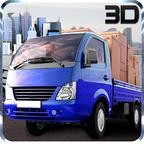 迷你驱动卡车运输3D