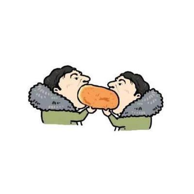 抖音很火的王思聪吃热狗gif高清动图分享