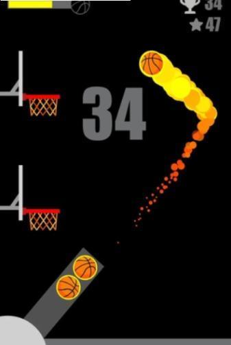 蹬墙篮球图1