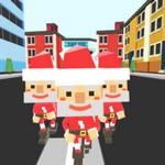 擁擠城市圣誕版
