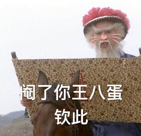 徐锦江九品芝麻官表情包-高清图片无水印