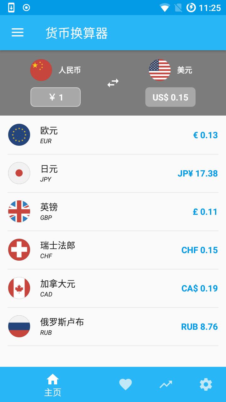 货币换算器图1