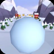 暴走雪球滚动球球