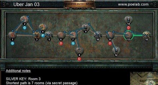 流放之路终极迷宫1.3怎么过-1月3日终极迷宫钥匙获取攻略