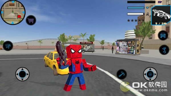 方块蜘蛛侠英雄图2