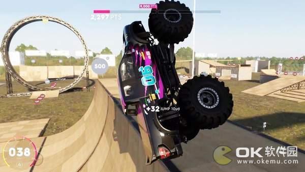 怪物卡车野蛮撞击图1