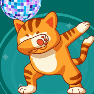 貓咪派對舞蹈唱首歌