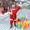 圣誕圣誕老人城駕駛