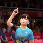 福原爱教你打乒乓球