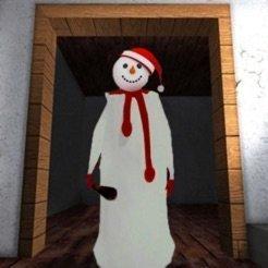 圣誕恐怖屋奶奶