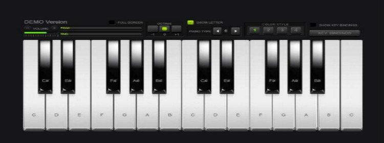 自由彈鋼琴的游戲大全