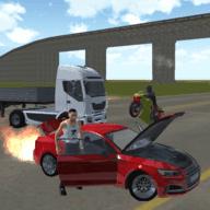 激烈的驾驶模拟器