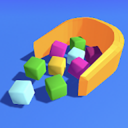 抖音清理積木3D
