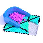 抖音方块填充3D