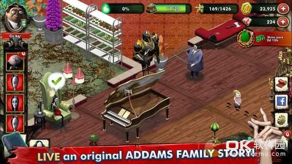 亚当斯一家神秘宅邸图1