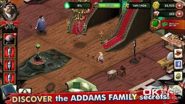 亞當斯一家神秘宅邸圖2