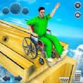 疯狂的轮椅挑战赛
