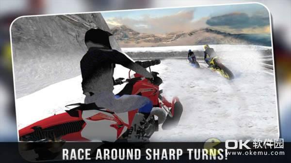 雪地摩托车手手机版图3