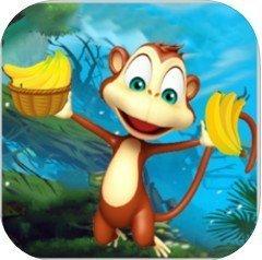 丛林香蕉猴苹果版