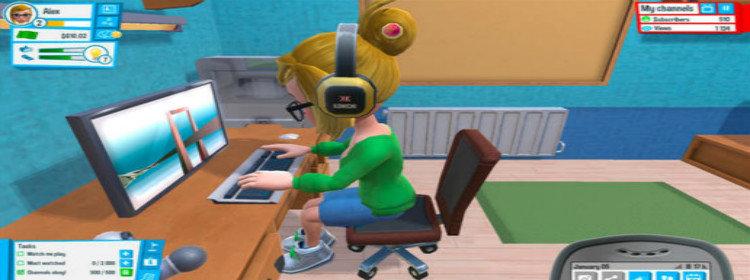 当主播的模拟人生游戏大全
