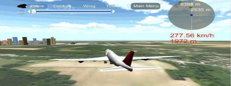 重力感应飞机竞速游戏大全