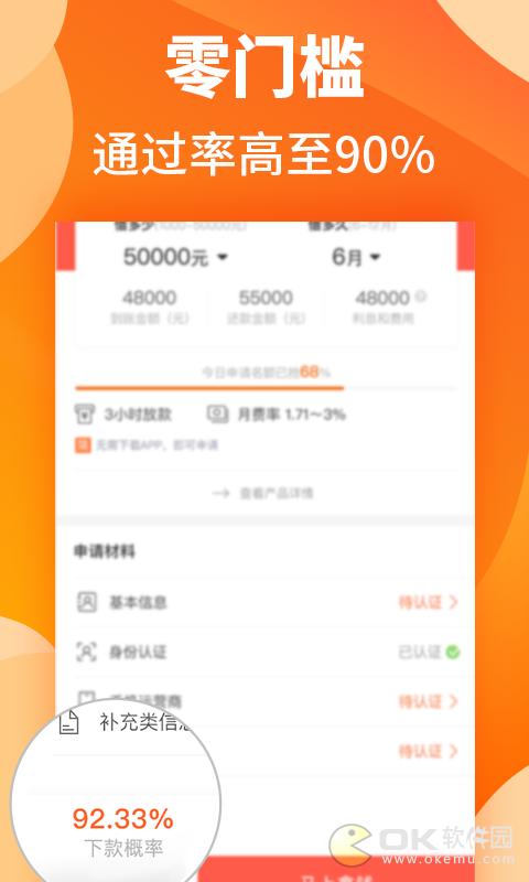 橙子贷款图2