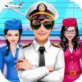 機組人員女孩飛機經理蘋果版