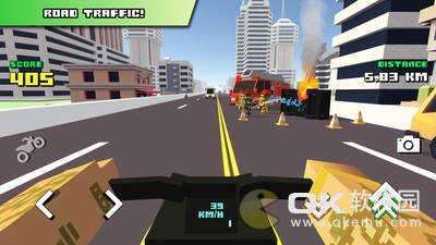 方块摩托车骑手手机版图2