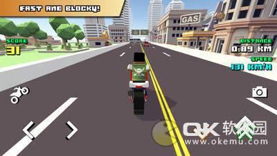 方块摩托车骑手手机版图3