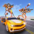 鸵鸟机器人汽车变形战争最新版