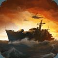 军舰猛攻海域防御