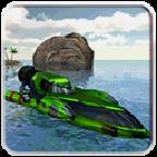 动力艇驱动3D
