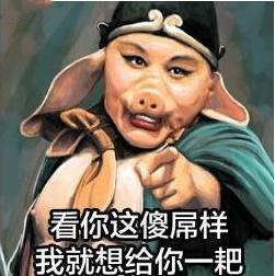我是唐僧最帅的徒弟我叫猪八戒表情包