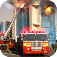 消防车城市模拟