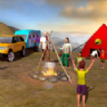 虚拟家庭露营车驾驶