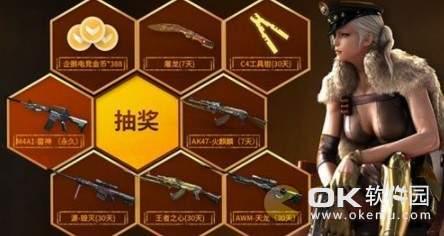 CF钢铁硬汉M4A1雷神抽奖活动内容公布