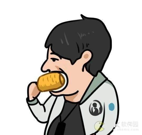 王思聪吃玉米情侣头像图2
