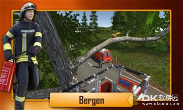 紧急112消防队员模拟图3