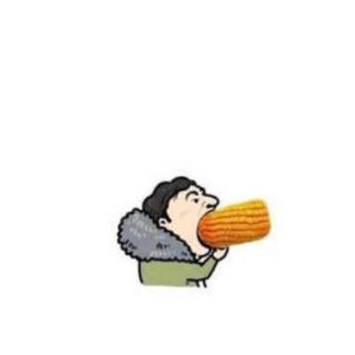 王思聪吃玉米情侣头像