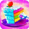 烹飪蛋糕嬰兒糖果廚師