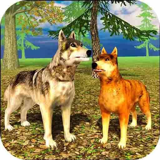 模擬狼荒野捕獵