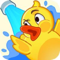 濺起小黃鴨