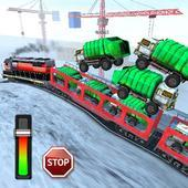 地铁列车运输3D