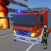 儿童消防车模拟器