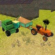 收割机驾驶3D卸载小麦