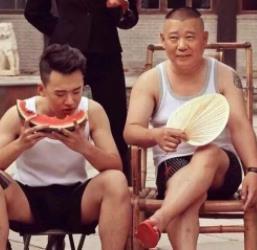 抖音郭德纲和郭麒麟吃西瓜壁纸