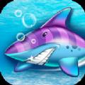 憤怒的深海鯊魚
