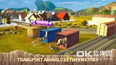 动物园动物运输火车驾驶图3