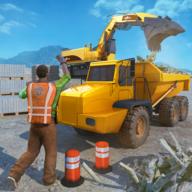 起重挖掘机施工