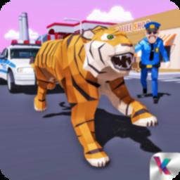 老虎模拟器城市生存